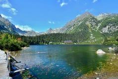 Λίμνη Pleso Popradske Στοκ φωτογραφία με δικαίωμα ελεύθερης χρήσης