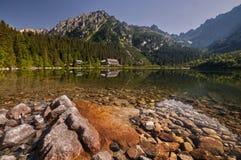 Λίμνη Pleso Popradske Στοκ Εικόνες