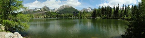 Λίμνη pleso Strbske Στοκ Εικόνες