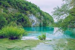 Λίμνη Plitvice σε Crotia Στοκ φωτογραφίες με δικαίωμα ελεύθερης χρήσης
