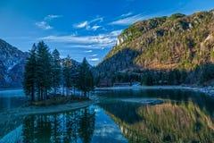 Λίμνη Predil Στοκ Εικόνες