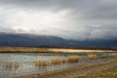 Λίμνη Prespes στην Ελλάδα Στοκ εικόνες με δικαίωμα ελεύθερης χρήσης