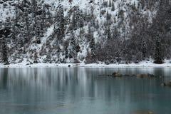 Λίμνη Rawu πρώτα ηλιόλουστη Στοκ Φωτογραφίες