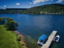 Λίμνη Rotoiti, NZ Στοκ Εικόνα