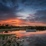 Λίμνη Rusky ανατολής Στοκ φωτογραφία με δικαίωμα ελεύθερης χρήσης