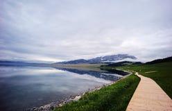 Λίμνη Sailimu Στοκ Φωτογραφία
