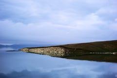 Λίμνη Sailimu Στοκ φωτογραφία με δικαίωμα ελεύθερης χρήσης