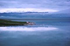 Λίμνη Sailimu Στοκ φωτογραφίες με δικαίωμα ελεύθερης χρήσης