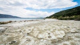 Λίμνη Salda σε Burdur, Τουρκία Στοκ φωτογραφία με δικαίωμα ελεύθερης χρήσης