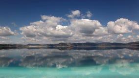 Λίμνη Salda στην περιοχή της Μεσογείου της Τουρκίας, απόθεμα βίντεο