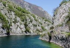 Λίμνη SAN Domenico, Ιταλία Στοκ Εικόνα