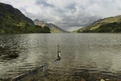 Λίμνη Shiel στο σκωτσέζικο Χάιλαντς στοκ φωτογραφία με δικαίωμα ελεύθερης χρήσης
