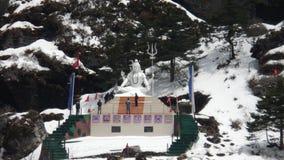 Λίμνη Shiv Mandir Changu στοκ φωτογραφίες με δικαίωμα ελεύθερης χρήσης