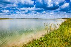 Λίμνη Sibaya Στοκ φωτογραφία με δικαίωμα ελεύθερης χρήσης