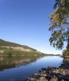 Λίμνη Skjeppsjoen, Νορβηγία στοκ φωτογραφία