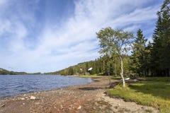 Λίμνη Skjeppsjoen, Νορβηγία στοκ εικόνα με δικαίωμα ελεύθερης χρήσης