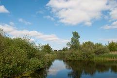 Λίμνη Somosen στη Δανία Στοκ φωτογραφίες με δικαίωμα ελεύθερης χρήσης