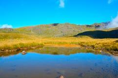 Λίμνη Sylvester, κοιλάδα Cobb στοκ εικόνα