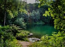 Λίμνη Szmaragdowe Στοκ Εικόνες