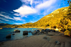 Λίμνη Tahoe, Καλιφόρνια, ΗΠΑ στοκ εικόνες