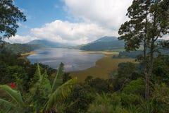 Λίμνη Tamblingan, Μπαλί, Ινδονησία Στοκ εικόνα με δικαίωμα ελεύθερης χρήσης