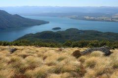 Λίμνη Te Anau, εθνικό πάρκο Fiordland Στοκ εικόνες με δικαίωμα ελεύθερης χρήσης