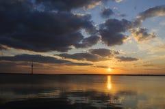 Λίμνη Techirghiol Στοκ φωτογραφία με δικαίωμα ελεύθερης χρήσης
