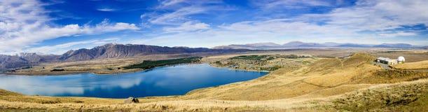 Λίμνη Tekapo, Νέα Ζηλανδία Στοκ Φωτογραφία