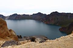 Λίμνη Tianchi στο βουνό Changbai Στοκ εικόνα με δικαίωμα ελεύθερης χρήσης