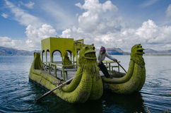 Λίμνη Titicaca στοκ φωτογραφία με δικαίωμα ελεύθερης χρήσης