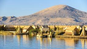 Λίμνη Titikaka, Περού στοκ εικόνες