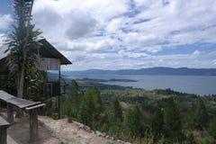 Λίμνη Toba άποψης Στοκ εικόνα με δικαίωμα ελεύθερης χρήσης