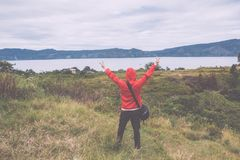 Λίμνη toba, medan, Ινδονησία Στοκ εικόνα με δικαίωμα ελεύθερης χρήσης