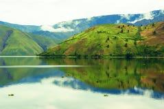 Λίμνη Toba, Sumatra Στοκ Εικόνες