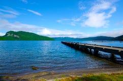 Λίμνη Towada, Ιαπωνία. Στοκ φωτογραφία με δικαίωμα ελεύθερης χρήσης