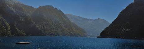 Λίμνη Traunsee στοκ φωτογραφία