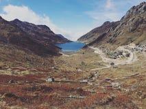 Λίμνη Tsomgo Στοκ φωτογραφία με δικαίωμα ελεύθερης χρήσης