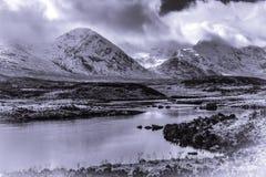 Λίμνη Tulla Σκωτία Στοκ εικόνα με δικαίωμα ελεύθερης χρήσης