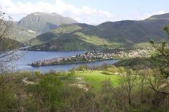 Λίμνη Turano Στοκ Φωτογραφίες