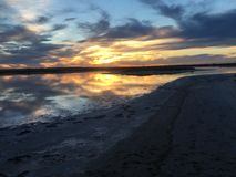 Λίμνη Tyrell Στοκ εικόνα με δικαίωμα ελεύθερης χρήσης
