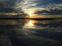 Λίμνη Tyrell Στοκ Εικόνες