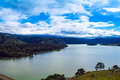 Λίμνη Umiam, Shillong, λόφοι ανατολικού Khasi, Meghalaya Στοκ φωτογραφίες με δικαίωμα ελεύθερης χρήσης