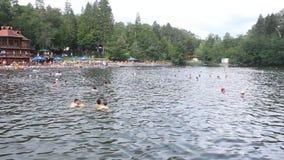 Λίμνη Ursu απόθεμα βίντεο