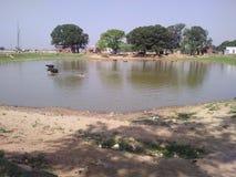 Λίμνη Villege στοκ εικόνες με δικαίωμα ελεύθερης χρήσης