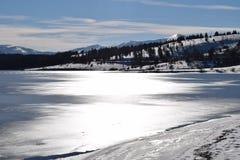 Λίμνη 2015 vlasina της Σερβίας Στοκ Εικόνες