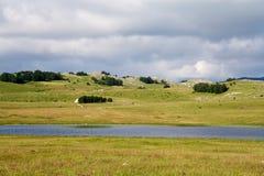 Λίμνη Vrazje στο εθνικό πάρκο Durmitor στο Μαυροβούνιο Στοκ εικόνες με δικαίωμα ελεύθερης χρήσης