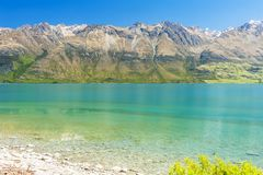 Λίμνη Wakatipu σε Glenorchy Στοκ εικόνες με δικαίωμα ελεύθερης χρήσης