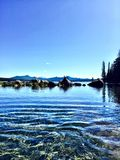 Λίμνη Waldo στο Όρεγκον Στοκ φωτογραφία με δικαίωμα ελεύθερης χρήσης