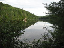 Λίμνη Wapizagonke Στοκ Εικόνες