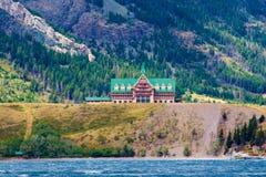 Λίμνη Waterton, Waterton, Καναδάς Στοκ εικόνα με δικαίωμα ελεύθερης χρήσης